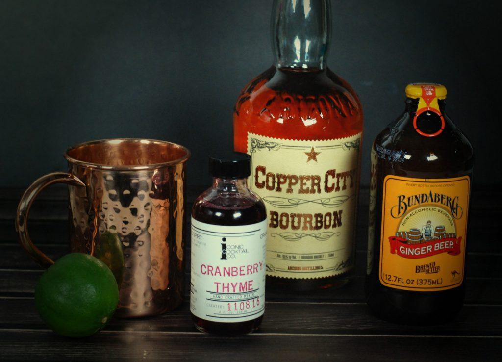 cranberry-bourbon-mule-ingredients