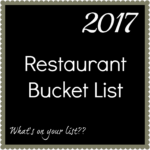 Where Do You Want to Eat in 2017??