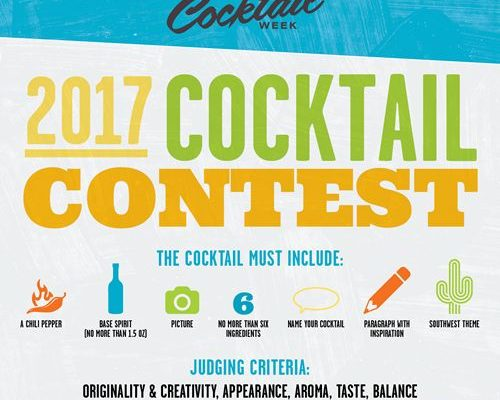 Arizona Cocktail Week's 2017 Cocktail Contest