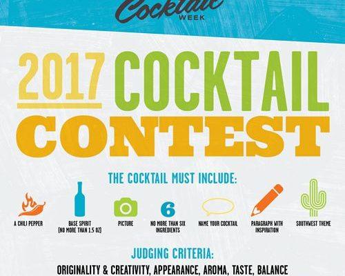 Arizona Cocktail Week's 2017 Cocktail Contest