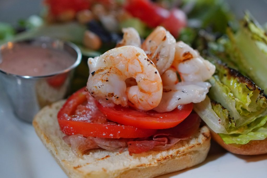 Whiskey Street Grilled Shrimp BLT Salt Lake City Eats