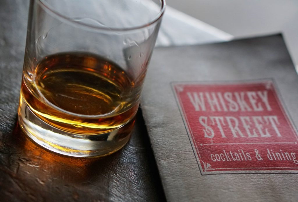 Whiskey Street Four Roses Bourbon Salt Lake City Eats and Drin