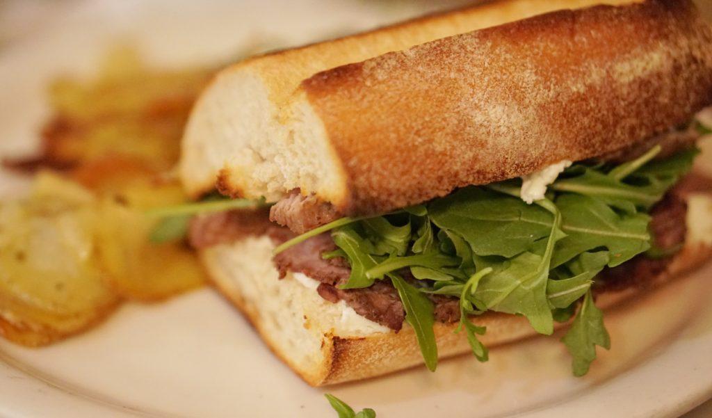 Steak Sandwich Evas Bakery Salt Lake City Eats