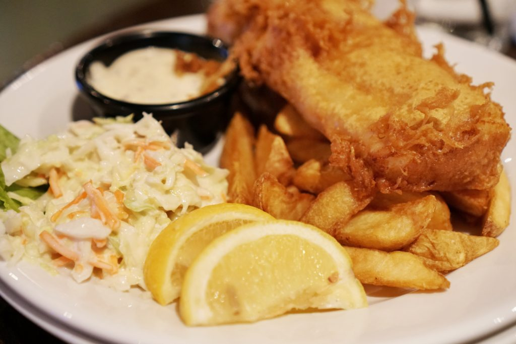 Irish Wolfhound Fish and Chips