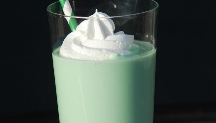 Dairy-Free Boozy Shamrock Shake