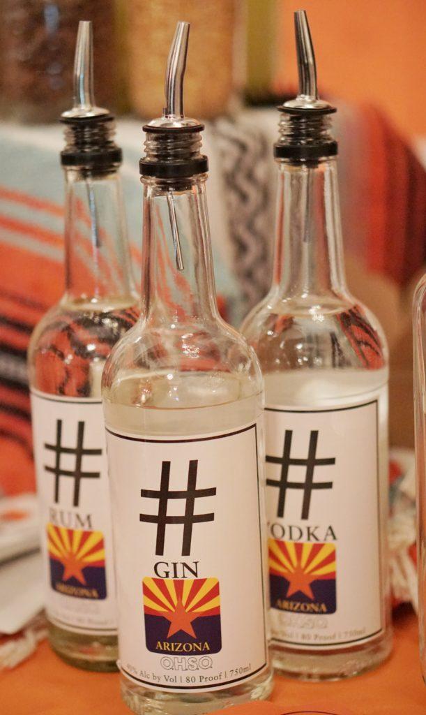 OHSO hashtag vodka gin