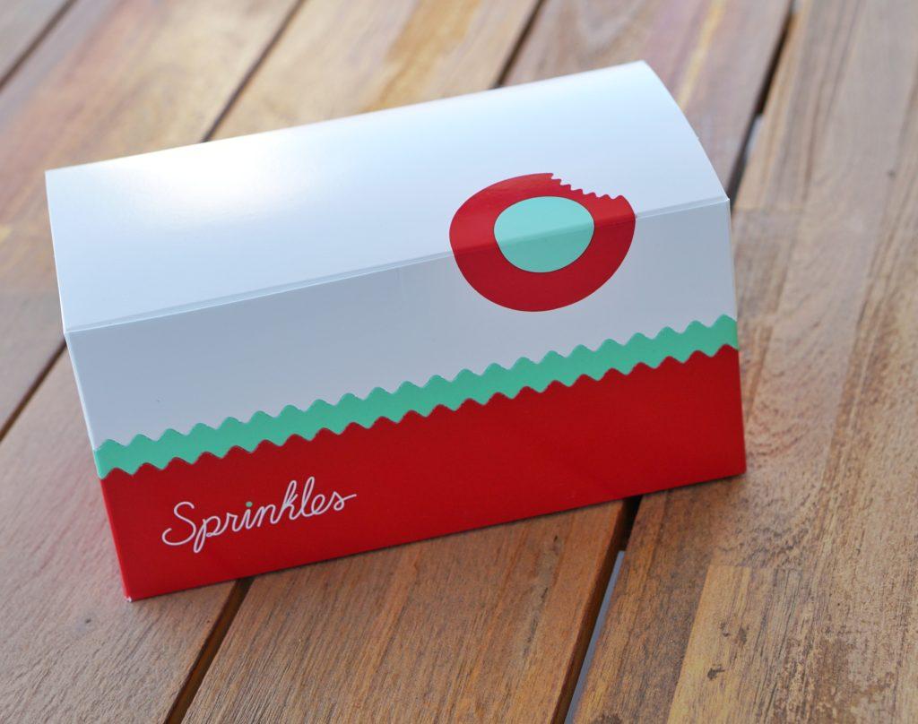 Sprinkles box of cookies