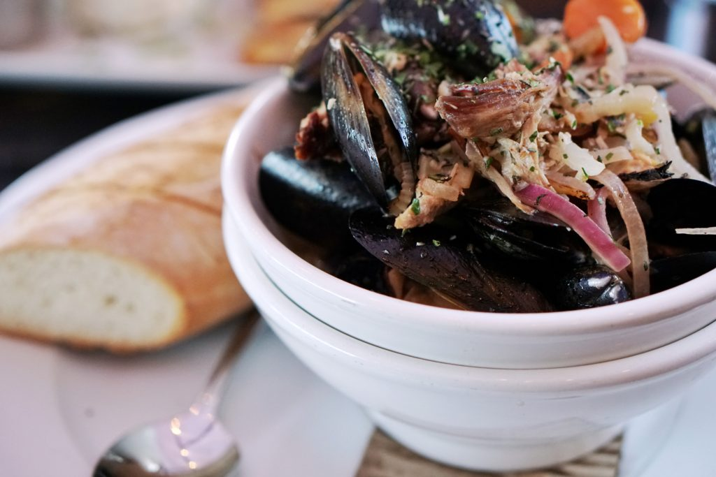 Liberty Station Mussels