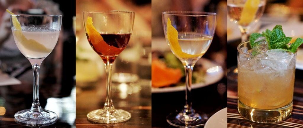 Liberty Station Tavern cocktail sampling
