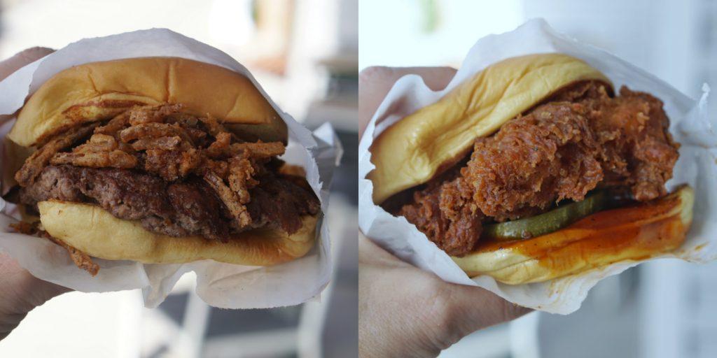 Shake Shack BBQ burger and chicken sandwich