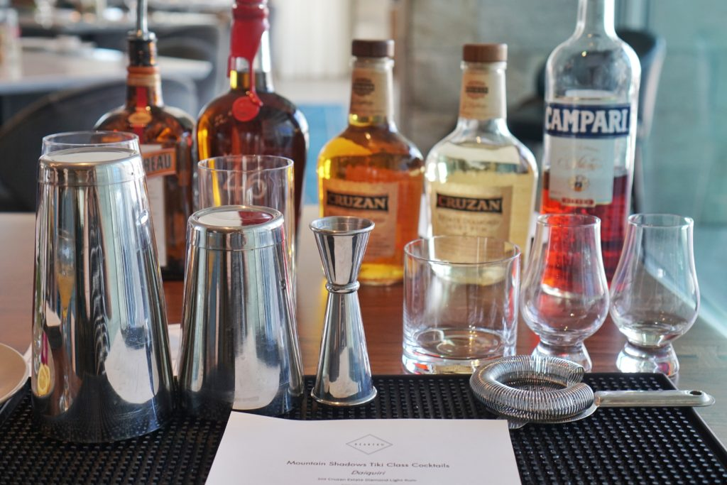 Hearth 61 mixology class