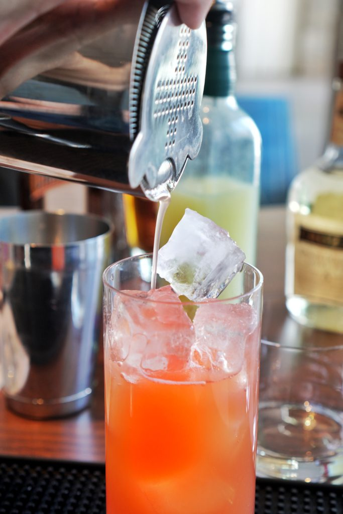 Cocktail mixology at Mountain Shadow