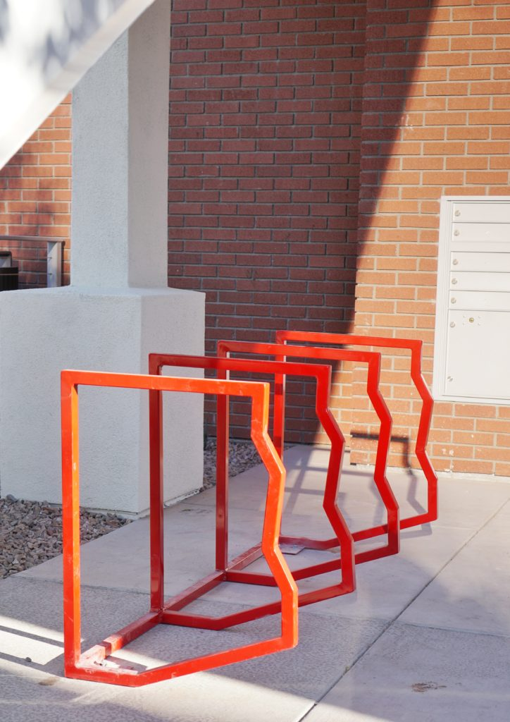 Arizona bike racks