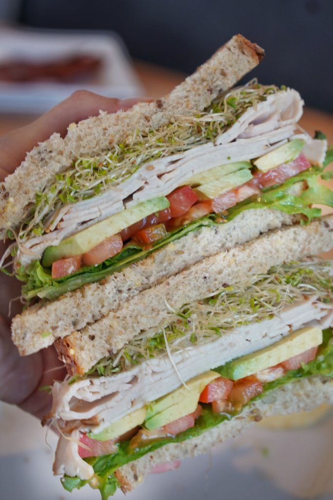 ncounter turkey avocado stack