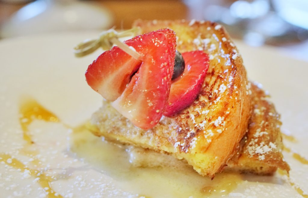 Banana Brioche French Toast