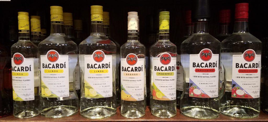 Bacardi flavored Rum