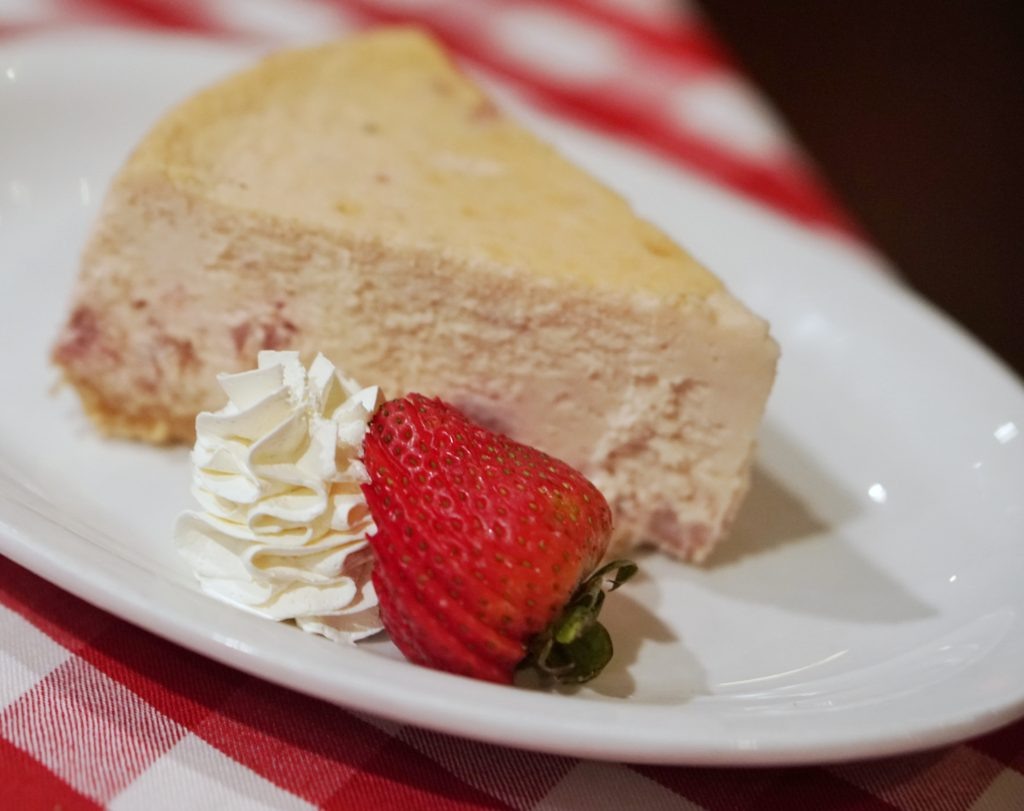 Grimaldis Strawberry Cheesecake