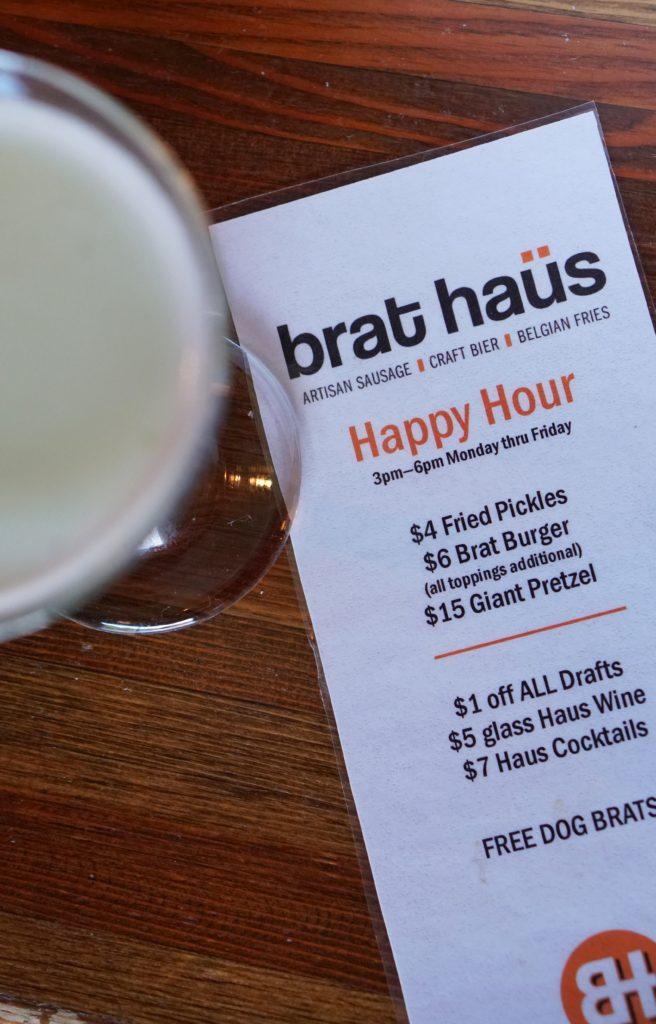 Brat Haus Scottsdale happy hour