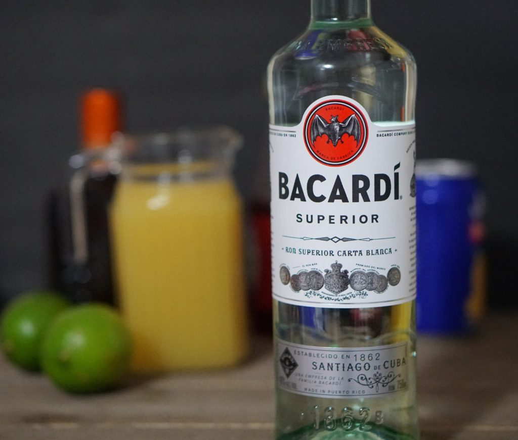Bacardi Pineapple Mango Rum Punch 1