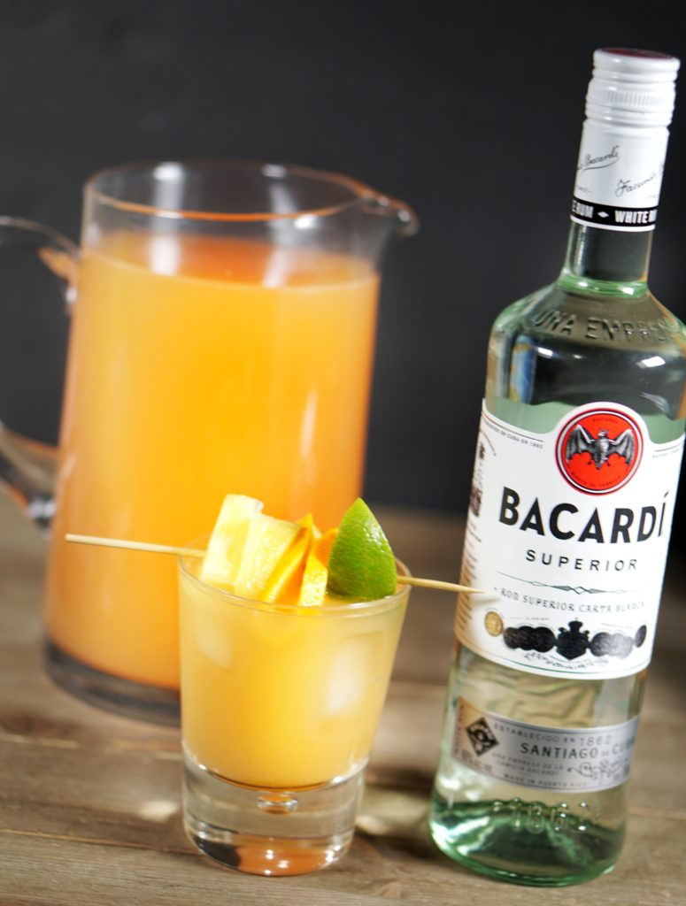 Pineapple Mango Rum Punch 2
