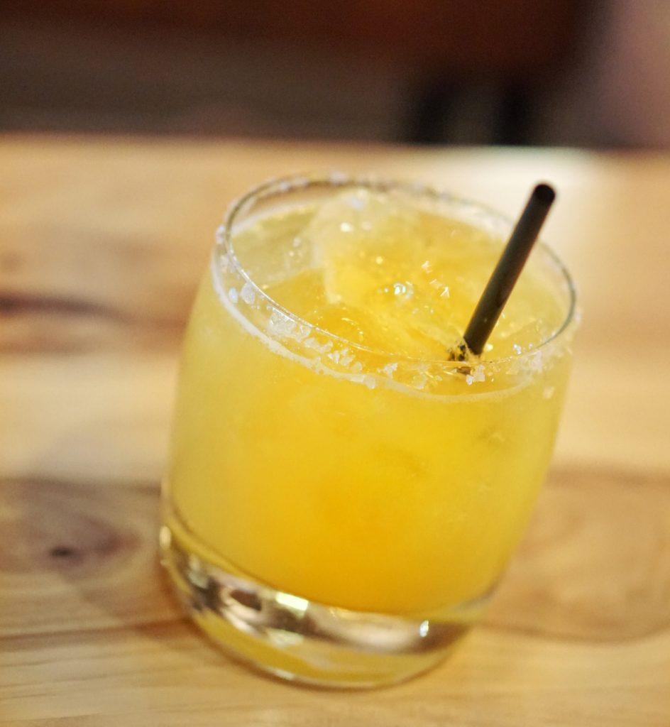 Cru Tacos Passionfruit Margarita