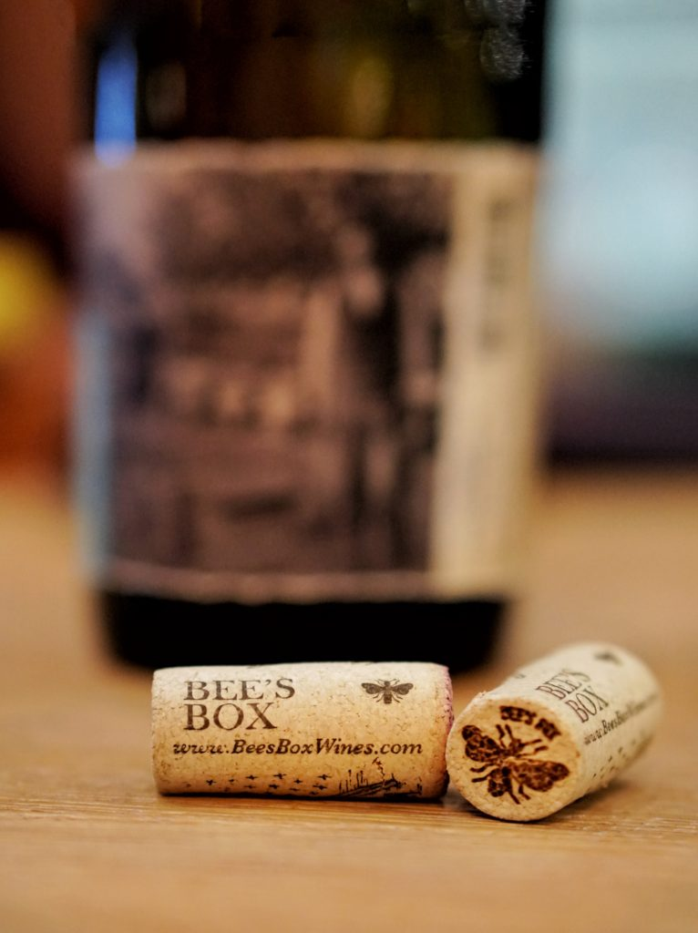 Bee's Box Wines corks