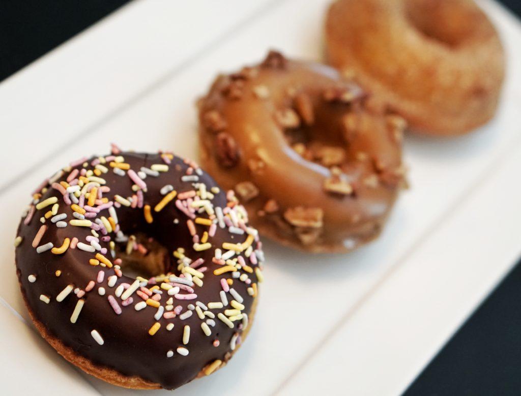 Urban Cookies vegan donuts