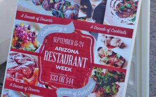 Arizona Restaurant Week, Fall 2017 Edition (September 15th-24th)