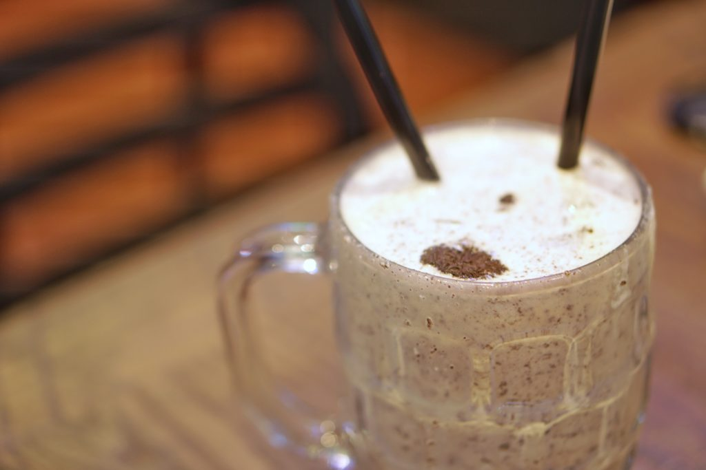 Cold Beers and Cheeseburgers Oreo Shake