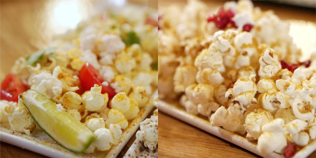 Bitters popcorn