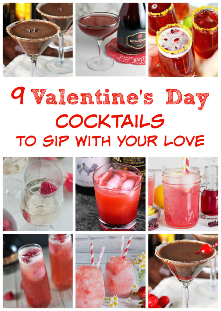 9 Valentine's Day Cocktails