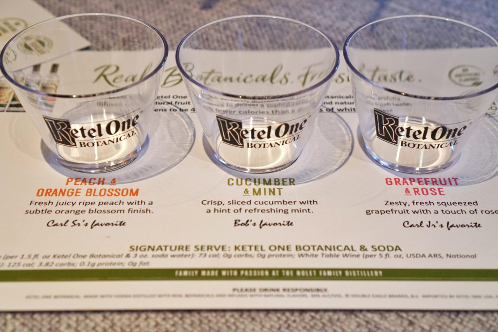 Ketel One vodka tasting