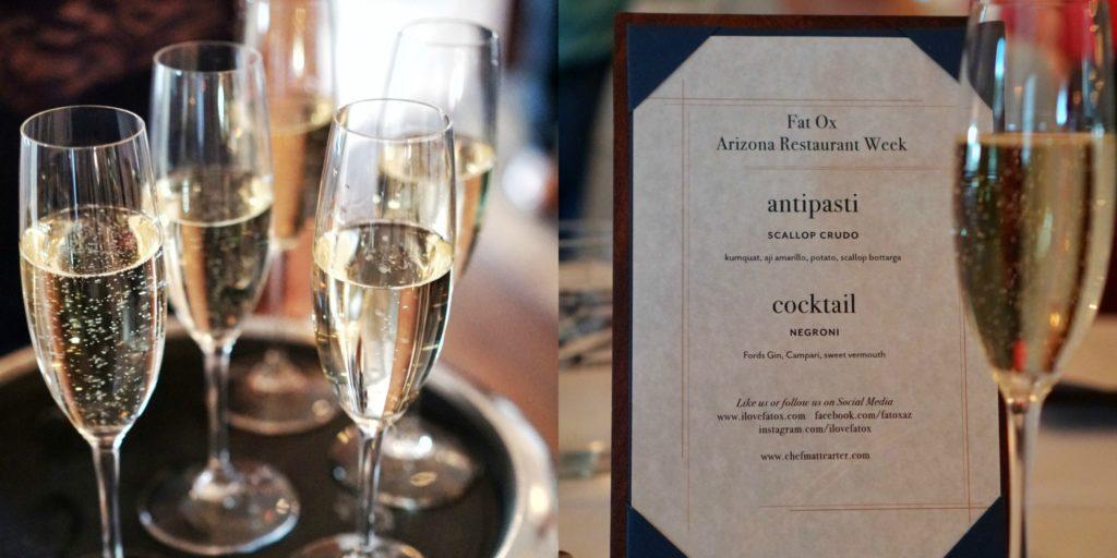 Fat Ox AZ restaurant menu