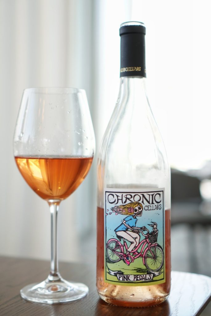Chronic Cellars wine rose wine tasting