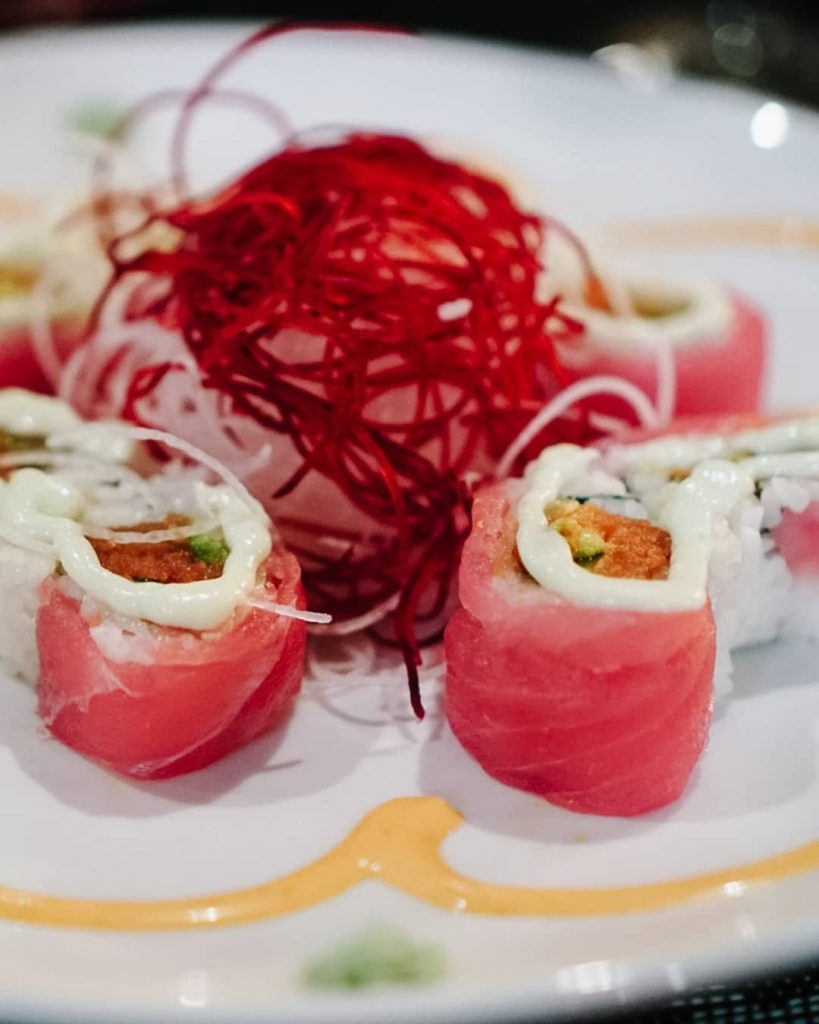 Palm Springs restaurant Domo Sushi