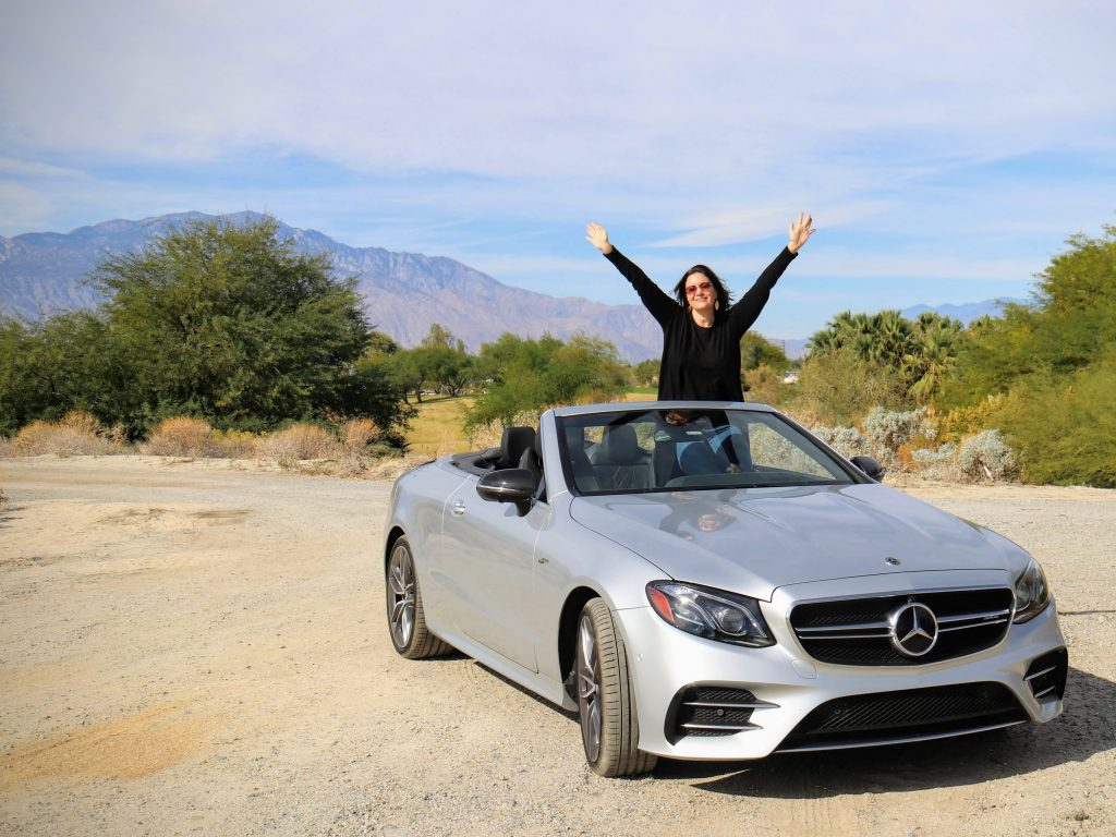 Palm Springs Merecedes Benz E53 convertable