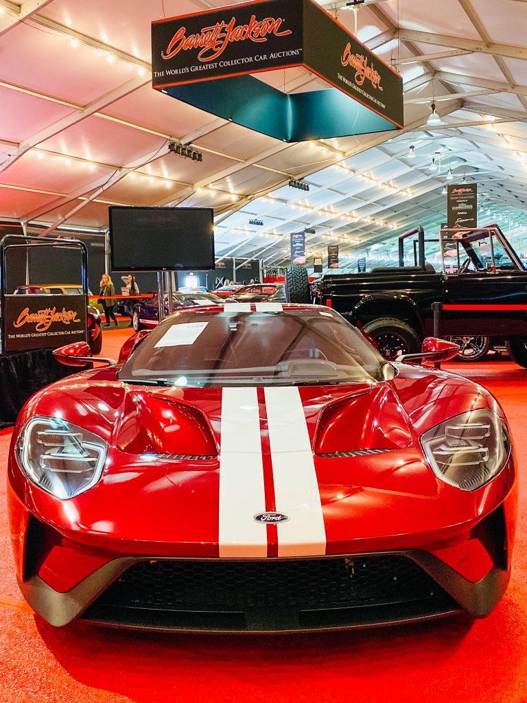 Barrett-Jackson car auction Scottsdale